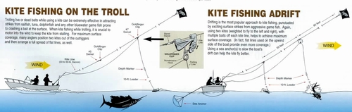 Aftco Trolling/Fishing Kite Kits
