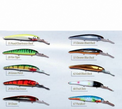 Bandit Deep Walleye Bandit Lures