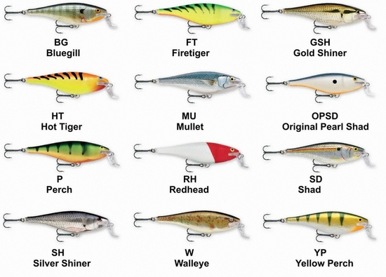 Lowest Price Rapala Super Shad Rap Fresh And Saltwater