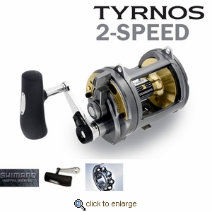 Shimano Tyrnos 2-Speed Conventional Reels