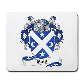 Haig Coat of Arms Mouse Pad
