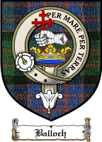 Balloch Clan Badge / Tartan FREE preview