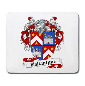Ballantyn Coat of Arms Mouse Pad