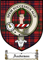Anderson Clan Badge / Tartan FREE preview