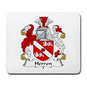 Herren Coat of Arms Mouse Pad