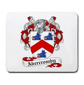 Abercromby Coat of Arms Mouse Pad