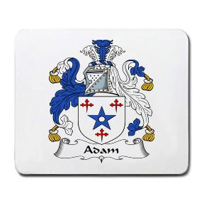 Adam Coat of Arms Mouse Pad