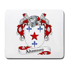 Adamson Coat of Arms Mouse Pad