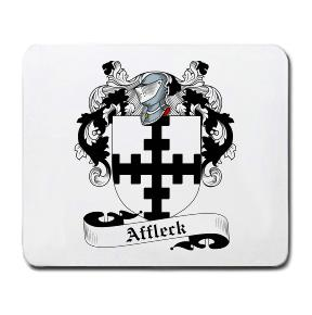 Affleck Coat of Arms Mouse Pad