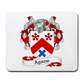 Agnew Coat of Arms Mouse Pad