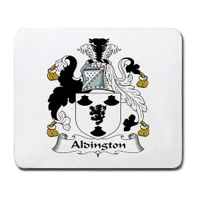 Aldington Coat of Arms Mouse Pad