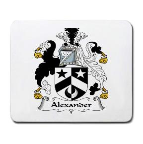 Alexander Coat of Arms Mouse Pad