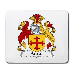 Anny Coat of Arms Mouse Pad