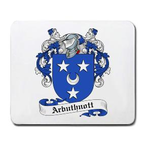 Arbuthnott Coat of Arms Mouse Pad