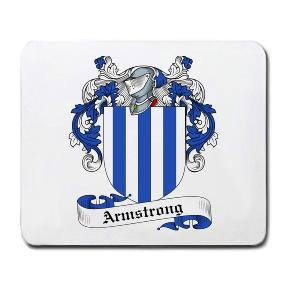 Armstrong Coat of Arms Mouse Pad
