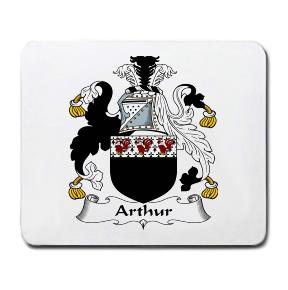 Arthur Coat of Arms Mouse Pad