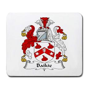 Baikie Coat of Arms Mouse Pad
