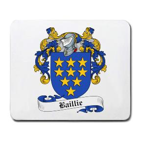 Baillie Coat of Arms Mouse Pad