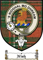 Nish Clan Badge / Tartan FREE preview