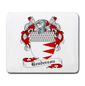 Henderson Coat of Arms Mouse Pad