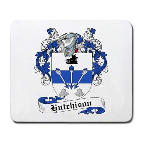 Hutchison Coat of Arms Mouse Pad