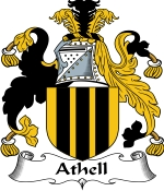 Athell Family Crest / Athell Coat of Arms JPG Download