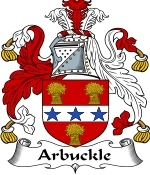 Arbuckle Family Crest / Arbuckle Coat of Arms JPG Download