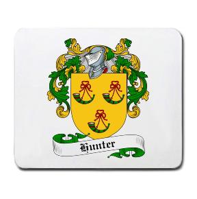 Hunter Coat of Arms Mouse Pad