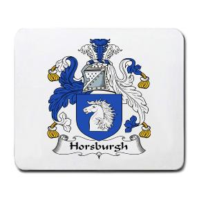 Horsburgh Coat of Arms Mouse Pad