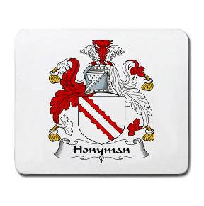Honyman Coat of Arms Mouse Pad