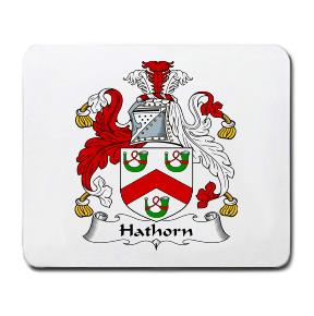 Hathorn Coat of Arms Mouse Pad