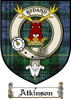 Atkinson Clan Badge / Tartan FREE preview