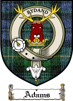 Adams Clan Badge / Tartan FREE preview