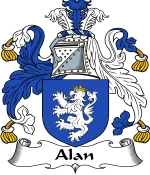 Alan Family Crest / Alan Coat of Arms JPG Download