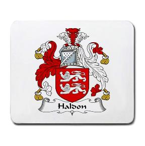 Haldon Coat of Arms Mouse Pad