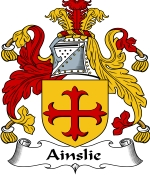 Ainslie Family Crest / Ainslie Coat of Arms JPG Download