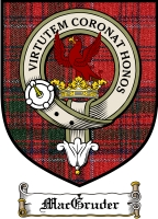 Macgruder Clan Macgregor Clan Badge / Tartan FREE preview