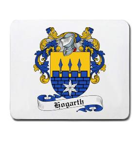 Hogarth Coat of Arms Mouse Pad