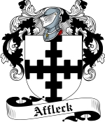 Affleck Family Crest / Affleck Coat of Arms JPG Download