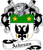 Acheson Family Crest / Acheson Coat of Arms JPG Download
