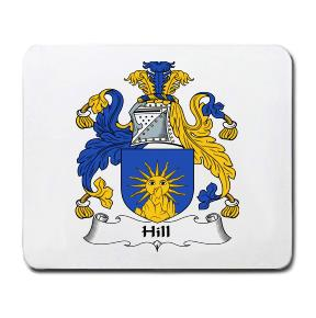 Hill Coat of Arms Mouse Pad
