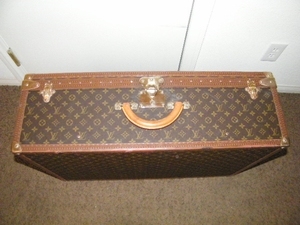 Louis Vuitton Alzer 80 hard-sided suitcase / luggage / trunk (SOLD!)