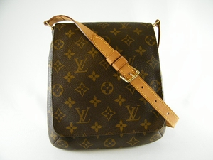Authentic Louis Vuitton Monogram Musette Salsa Leather Handbag Bag Purse (Clearance)