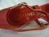 NEW! Authentic Chanel Red Patent Leather Heels Shoes