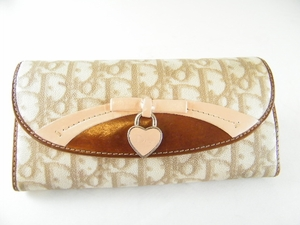 Authentic Christian Dior Pink Long Wallet (Clearance) (SOLD!)