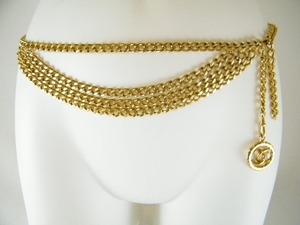 Authentic Vintage Golden Chanel Necklace / Belt (Clearance) (SOLD!)