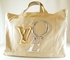 "Rare! Authentic Louis Vuitton Limited Edition Beige Cabas Toile ""That's Love"" GM Canvas Extra Large Tote Handbag Travel Bag"
