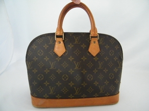 Authentic Louis Vuitton Monogram Alma Handbag Bag (SOLD!)