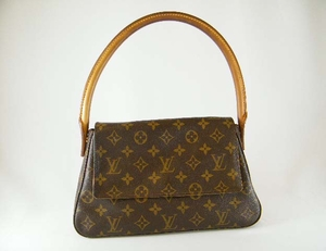Authentic Louis Vuitton Mini Looping Monogram Leather Handbag Bag Purse (CLEARANCE) (SOLD!)