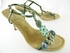 NEW! Authentic Mui Mui Green Flowers Suede Sandals Heels Shoes